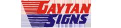 GaytanSigns Logo